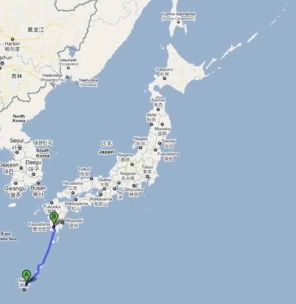 Kagoshima Japan Road Trip - Japan map kagoshima